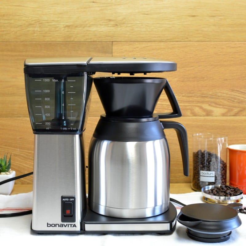 ボナビータ 8カップ オリジナル コーヒーメーカー ステンレス Bonavita BV1800SS 8-Cup Original Coffee Brewer 家電
