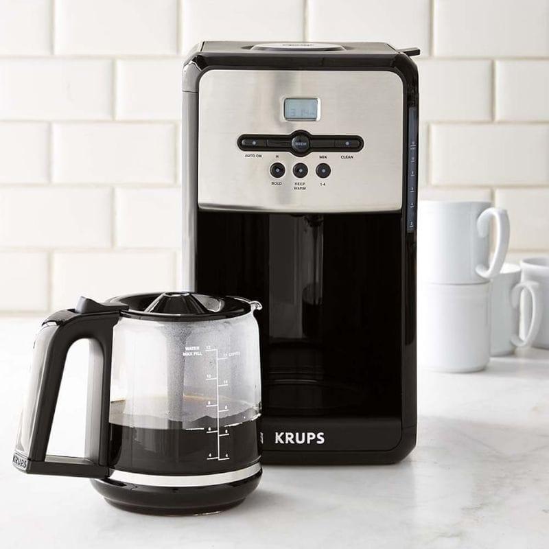 ウイリアムズ ソノマ クラップス コーヒーメーカー Krups Savoy Programmable Coffee Maker with Aroma Tube 家電