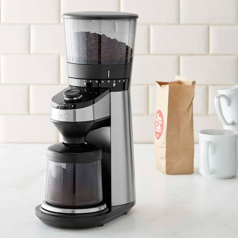 オクソー コーヒーグラインダー 豆挽き OXO On Barista Brain Conical Burr Coffee Grinder 家電
