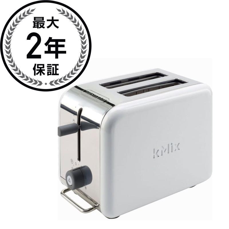 デロンギ トースター 2枚焼 ホワイト DeLonghi Kmix 2-Slice Toaster White DTT02WH 家電