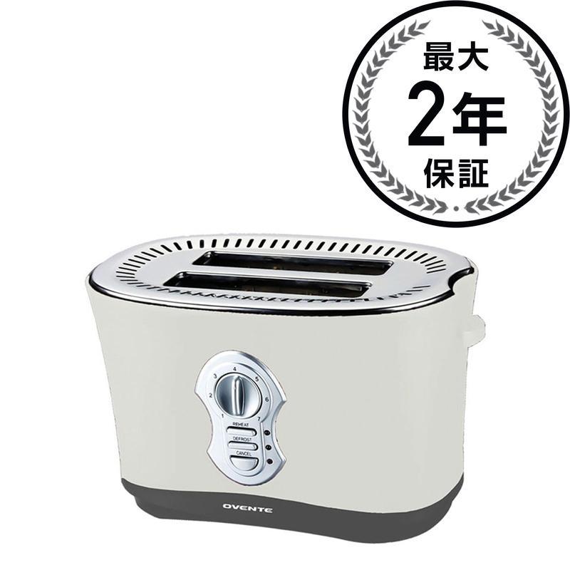 トースター 2枚焼き 4色Ovente 2-Slice Toaster