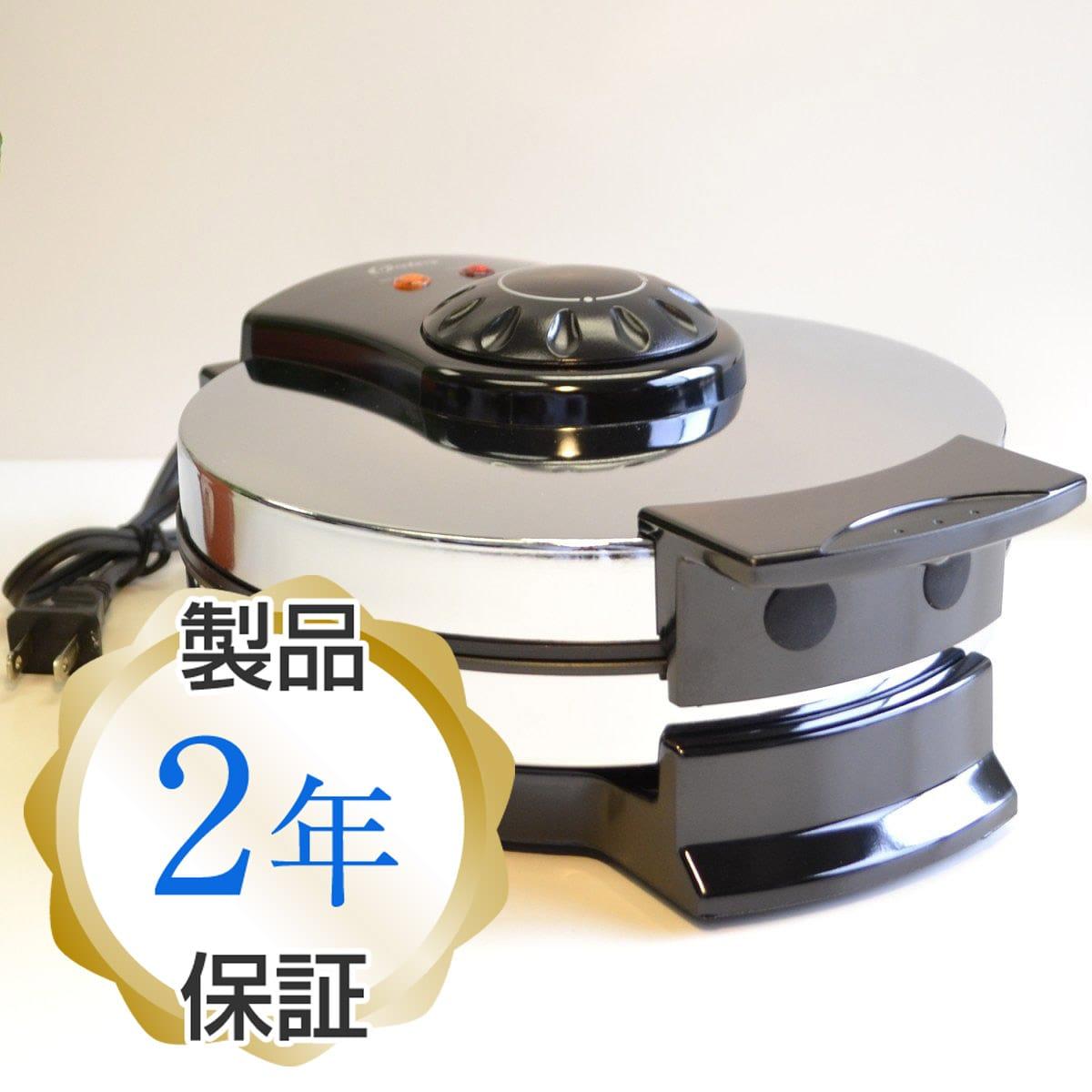 オスター ワッフルメーカー4枚焼 丸型(扇型) クロムOster 3883 Belgian Wafflemaker, Chrome