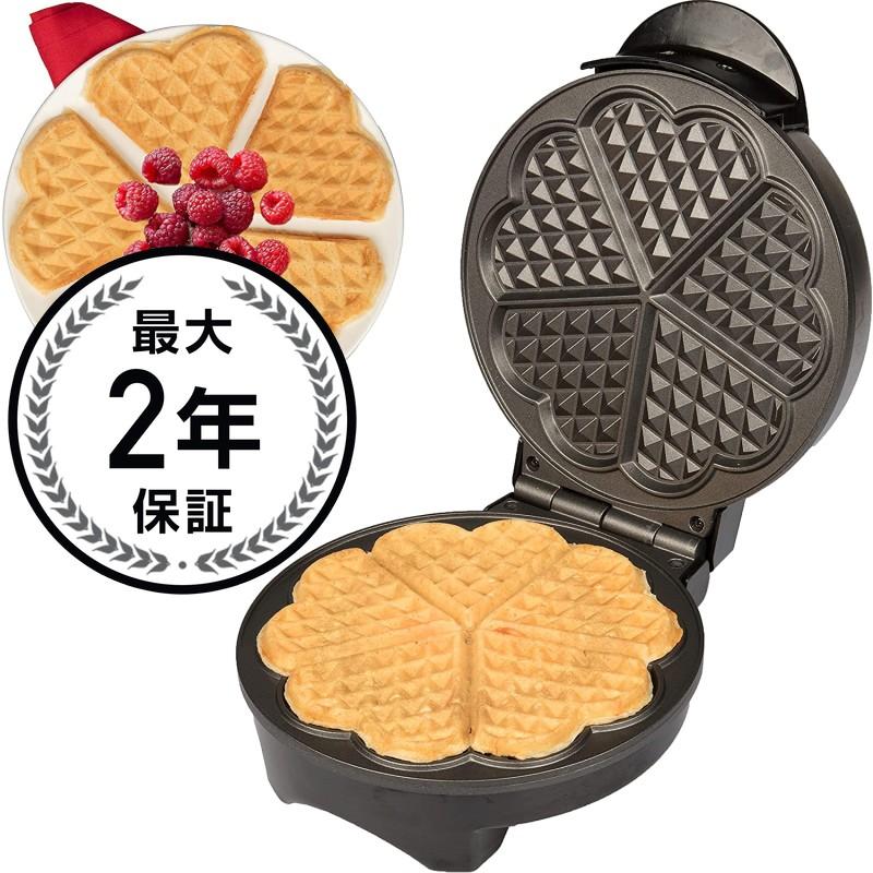 クチーナプロ クラシックハートワッフルメーカー ハート形 CucinaPro 1475 Classic Heart Waffler 家電