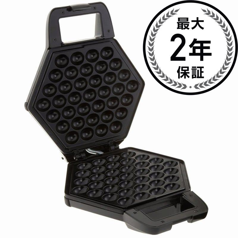 Alphaespace Cucina Pro Cakes And Bubble Waffle Maker Black