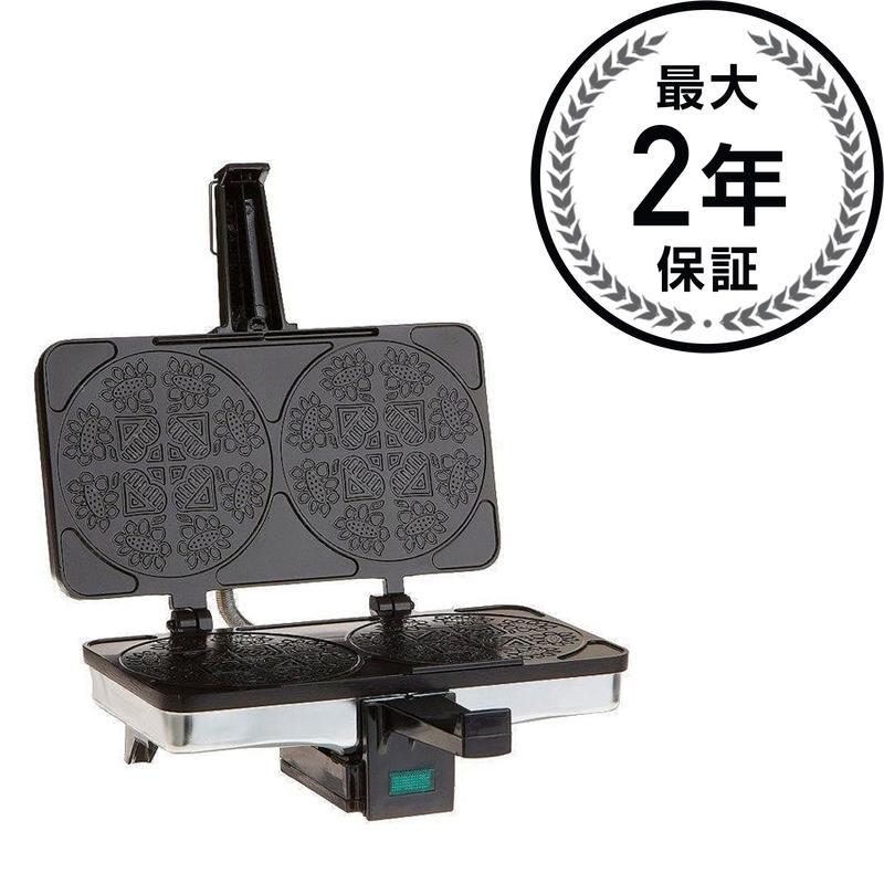 クチーナプロ クラムカーケメーカー 2枚焼 CucinaPro 220-02 Krumkake Baker 家電