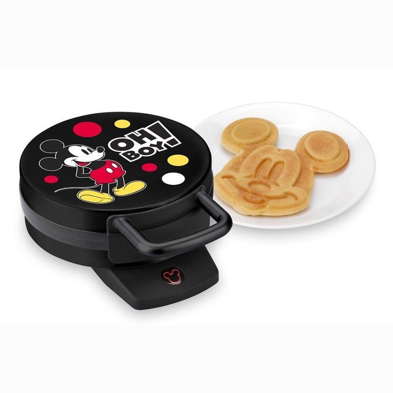 ディズニー ミッキー ミニワッフルメーカー Disney DCM-32 Mickey Mini Waffle Maker, Black 家電