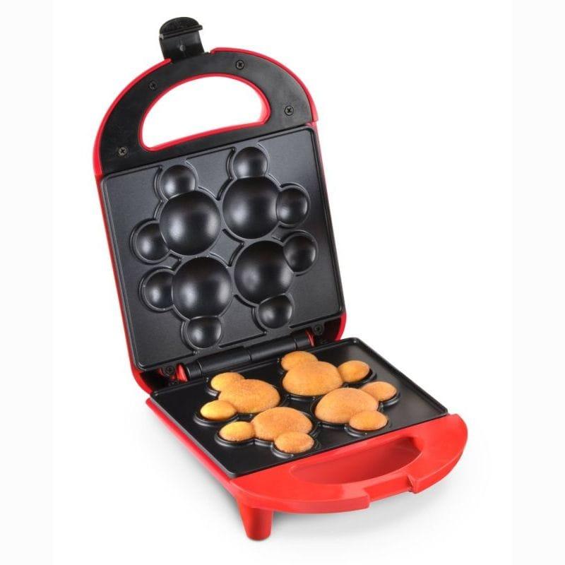 ディズニー ミッキー ケーキポップメーカー Disney DCM-8 Mickey Cake Pop Maker, Mini, Red 家電