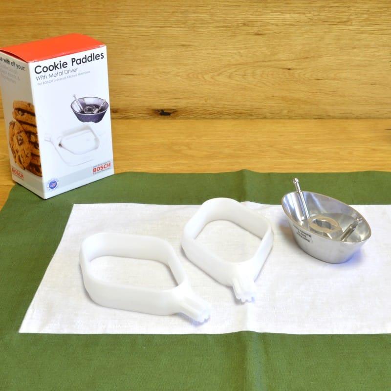 ボッシュ ユニバーサル スタンドミキサー用 クッキーパドル&メタルドライブコンボ アタッチメント Universal Cookie Paddles & Metal Drive Combo Bosch Mixer Attachments MUZ6CP2