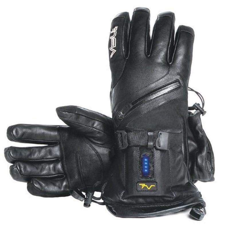 バイク用 バッテリー付 手袋 Volt Resistance Titan 7v Heated Leather Glove