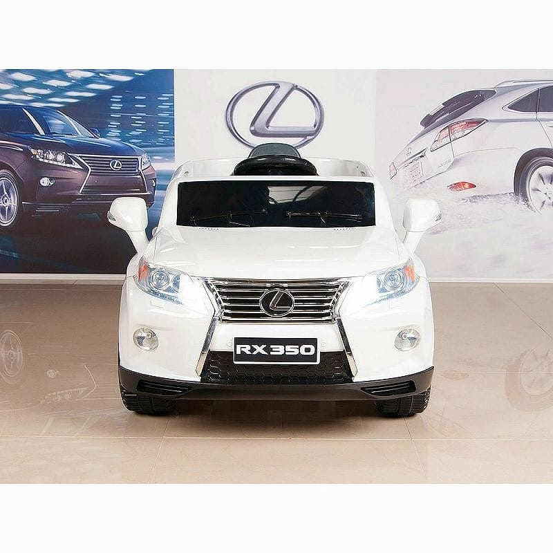 【組立要】レクサス 子供用電気自動車 電動カー Lexus RX 350 White 12V Battery Powered Wheels Kids Ride On Car With RC 家電