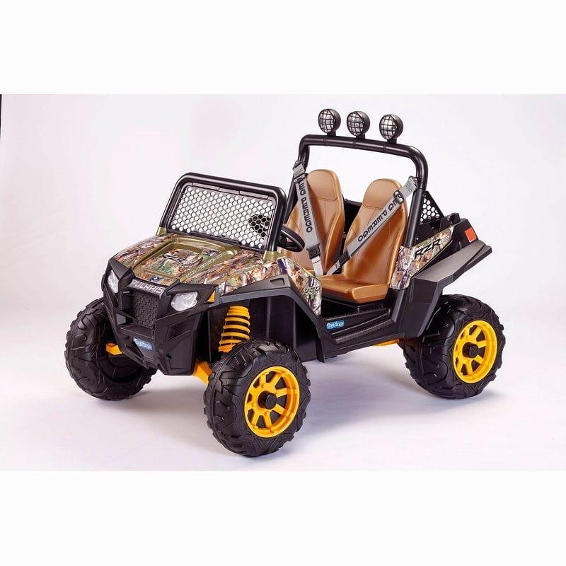 【組立要】ペグペレーゴ 子供用電気自動車 電動カーPeg Perego Polaris RZR 900 CAMO Ride On 家電