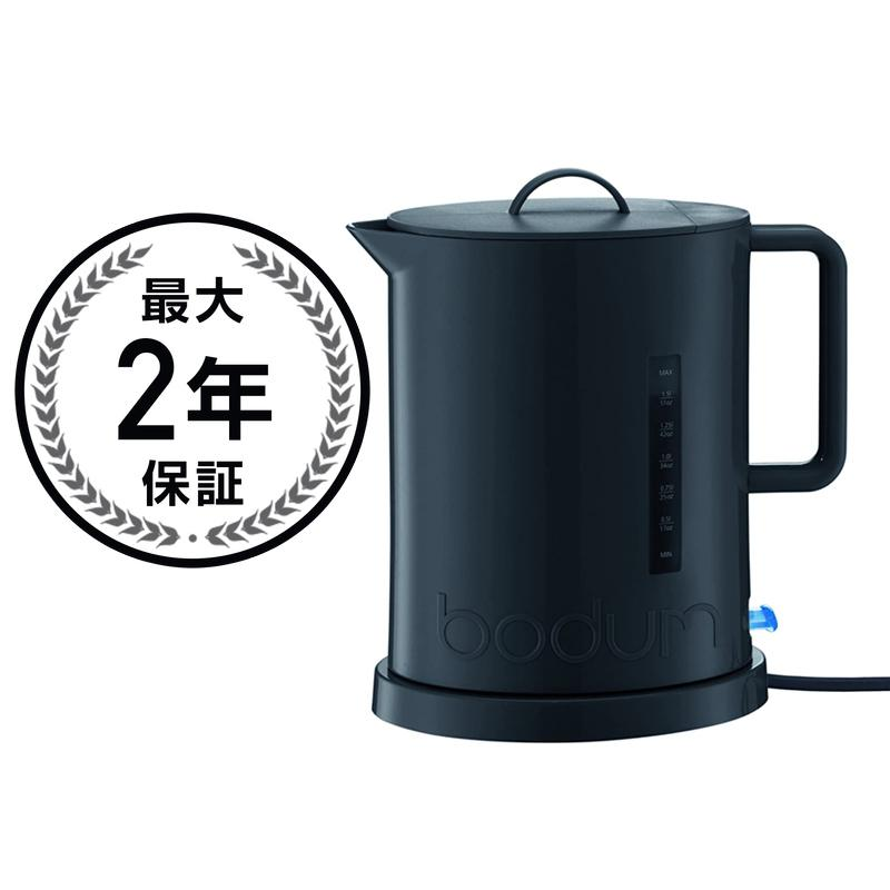 ボダムコードレス電気ケトル 1.7L Bodum Ibis Cordless Electric 57-Ounce Water Kettle 5500 家電
