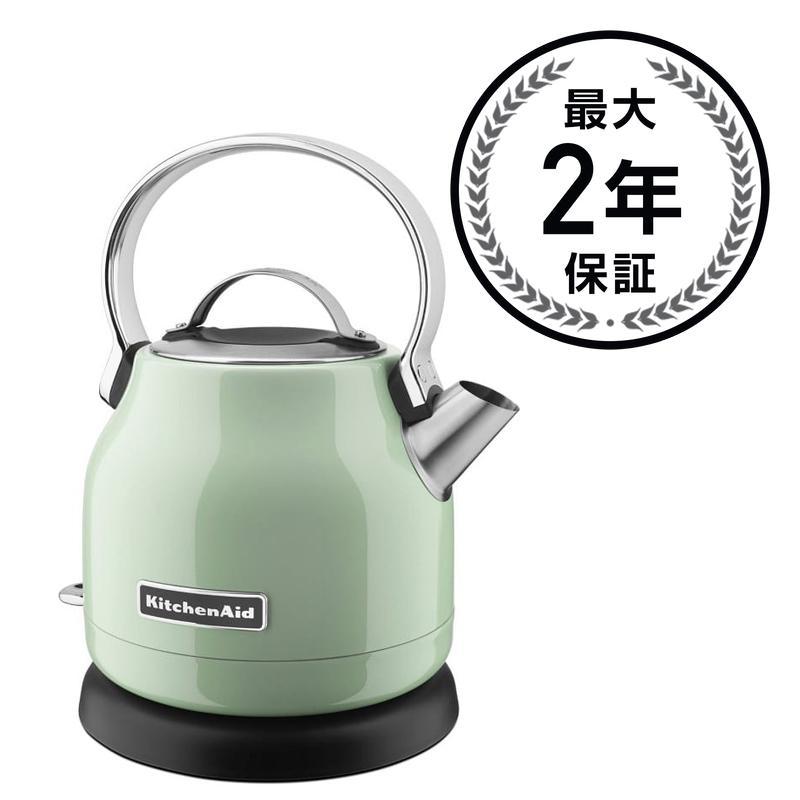 キッチンエイド 電気ケトル ピスタチオ KitchenAid KEK1222PT 1.25-Liter Electric Kettle - Pistachio 家電