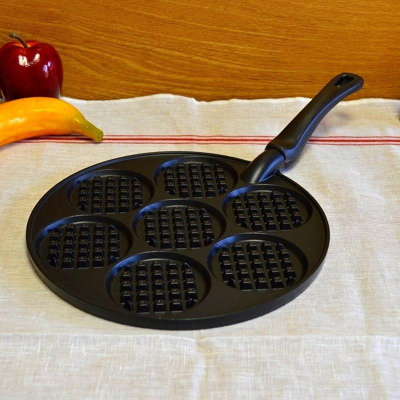 ワッフルパンケーキ焼 ノンスティック加工 テフロン加工 シルバーストーン加工Nordic Ware Waffled Pancake Pan ワッフル調理器 ワッフルフライパン