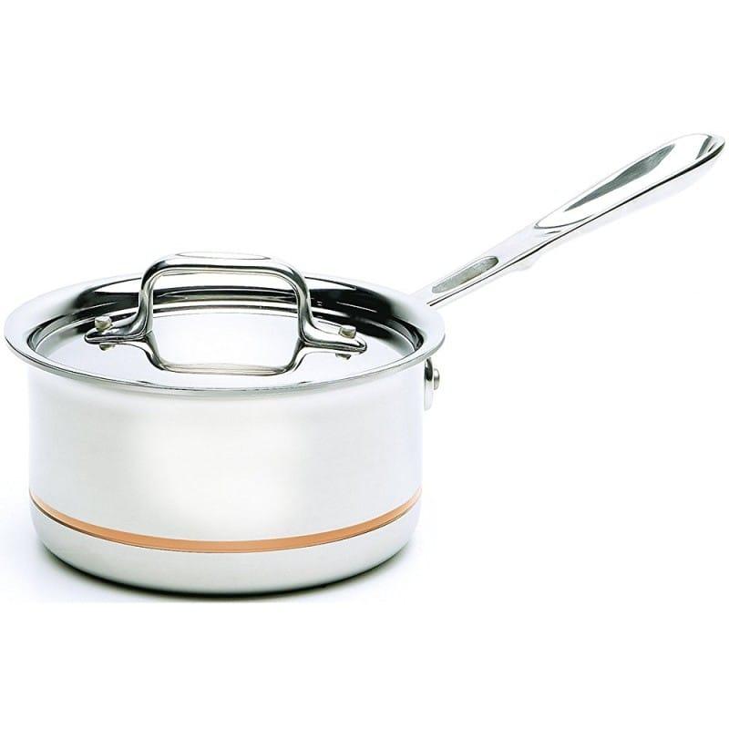 オールクラッド コッパー 深鍋 All-Clad Copper Core Cookware 6203