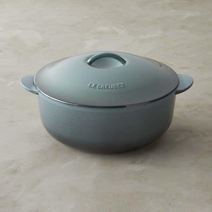 ウィリアムズソノマ ルクルーゼ キャストアイロン マリーポット キャセロール 鍋 3.8LWilliams-Sonoma Le Creuset Cast-Iron Maree Pot