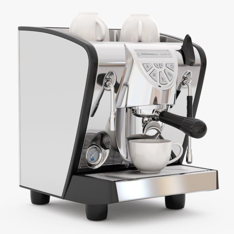 ヌォーヴァ シモネリ ムシカ エスプレッソマシーン ブラック コーヒーメーカー 業務品質 イタリア 老舗Nuova Simonelli Musica Espresso Black 家電