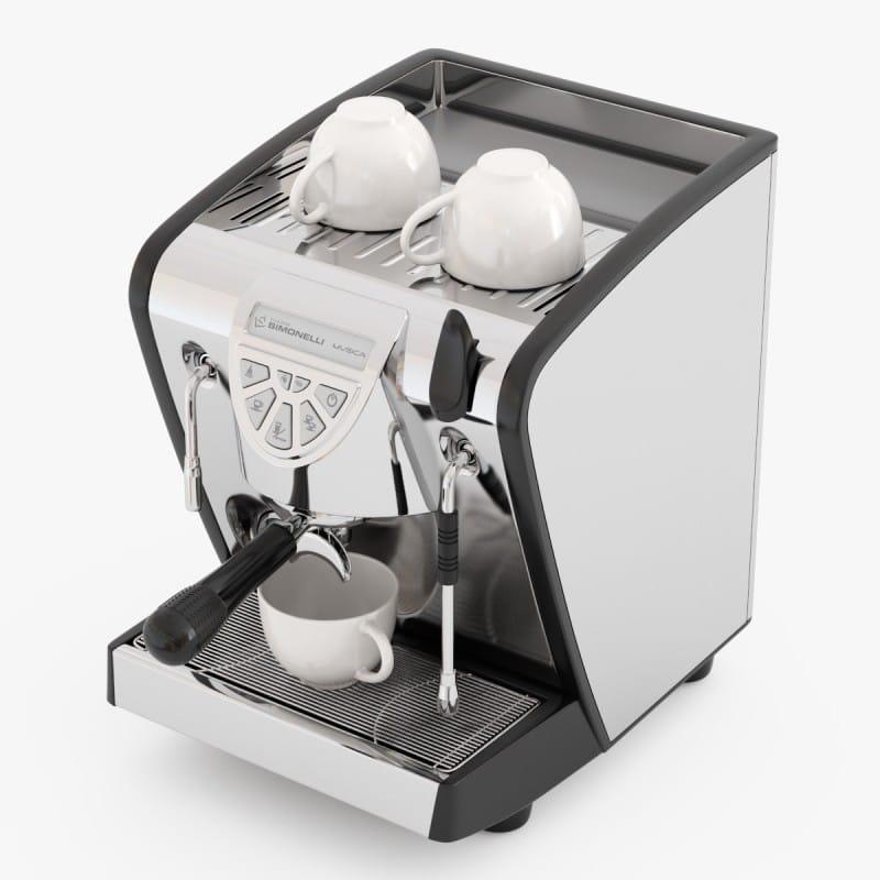 누바시모네림시카에스프렛소마신브락크 SIMONELLI Musica Espresso Black