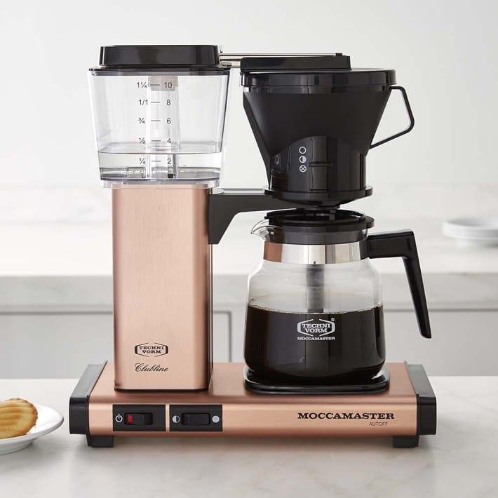 ウイリアムズ・ソノマ モカマスター コーヒーメーカー コッパー Williams-Sonoma Technivorm Glass Coffee Maker, Copper 家電