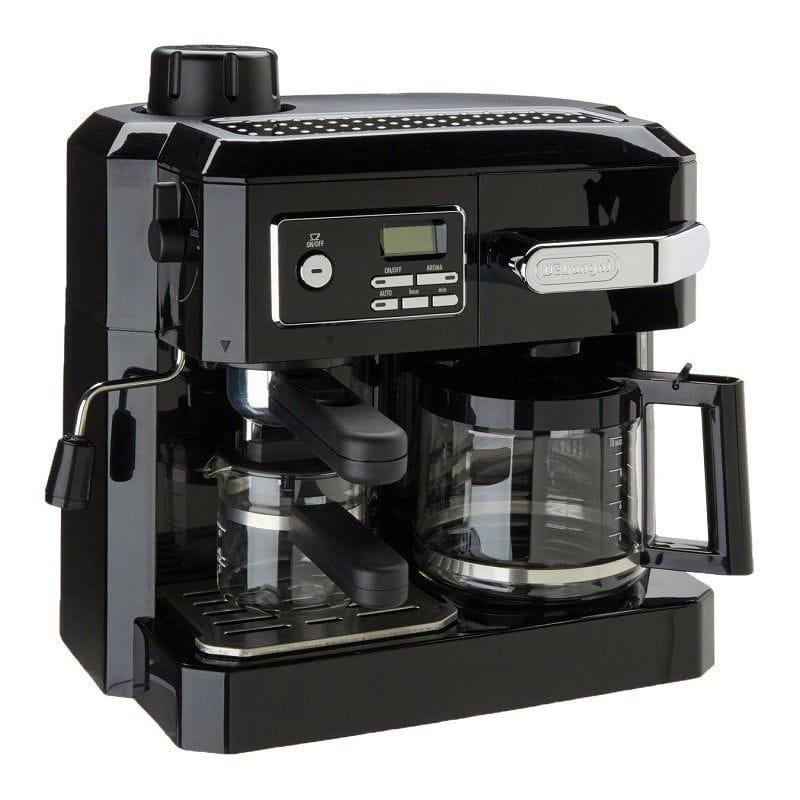 コーヒーメーカー&エスプレッソマシン デロンギ コンビネーション DeLonghi BCO320T Combination Espresso and Drip Coffee 家電