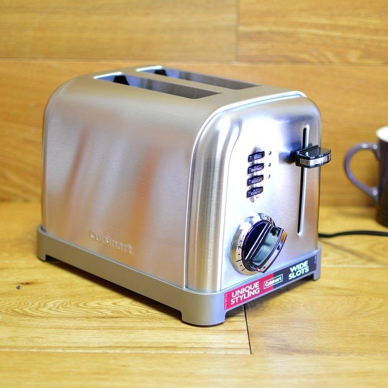 クイジナート メタルクラシック 2枚焼 トースターCuisinart CPT-160 Metal Classic 2-Slice Toaster