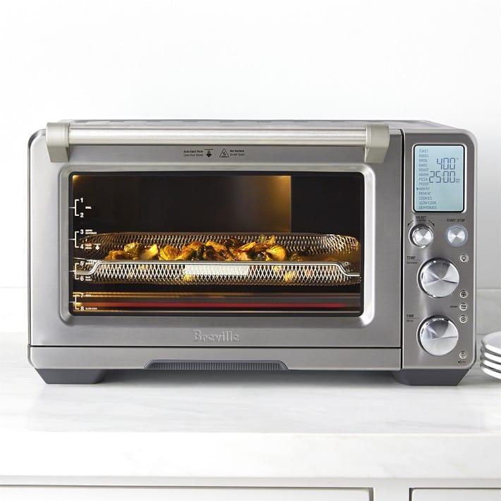 ブレビル マルチオーブン コンベクション スロークッカー エアーフライ 食品乾燥Breville Smart Oven Air BOV900BSS 家電