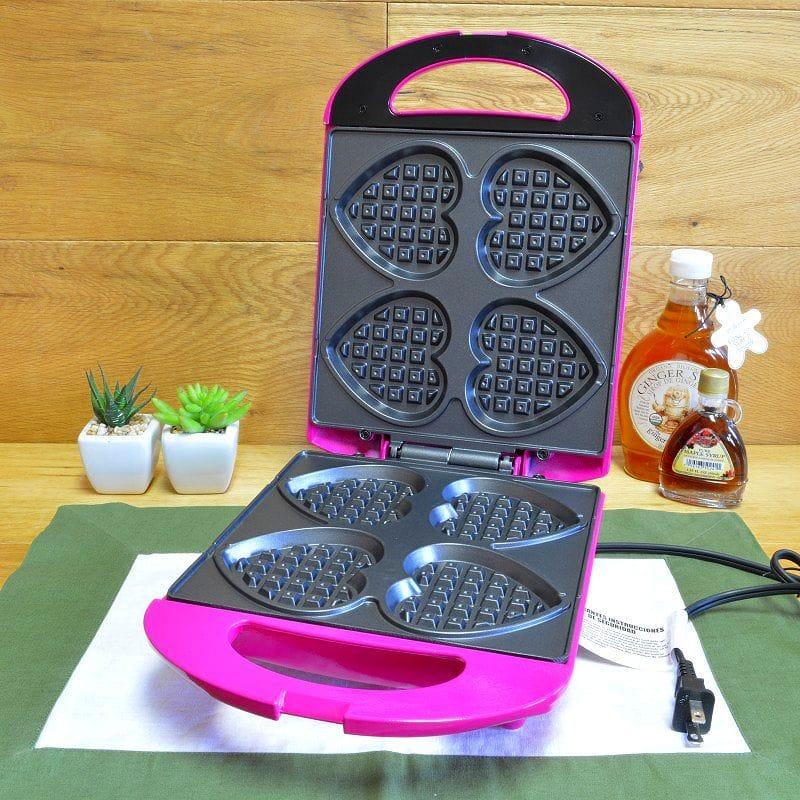 ハート型 ワッフルメーカー Holstein Housewares HF-09031M Heart Waffle Maker 家電