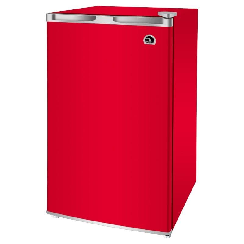冷蔵庫 90L イグルー コンパクト レッド 赤 Igloo 3.2-cu. ft. Refrigerator red【代引不可】家電