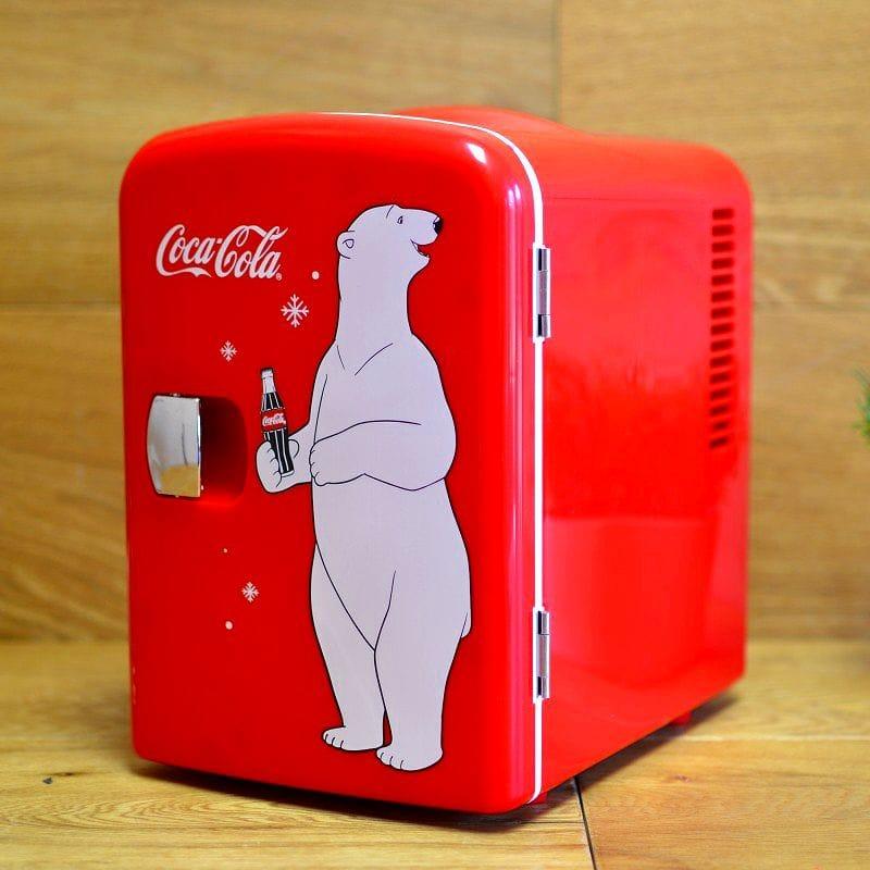 コカ・コーラ パーソナル 6缶 ミニ 冷蔵庫 冷温庫 レトロ カリフォルニア 西海岸 Koolatron KWC-4 Coca-Cola Personal 6-Can Mini Fridge 家電
