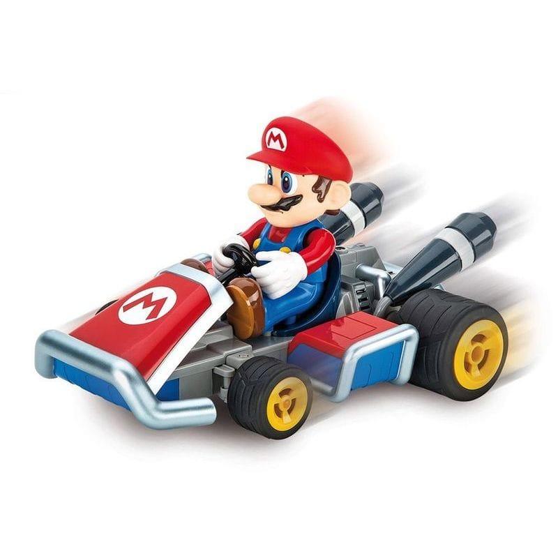 カレラ マリオ トニックカート ラジコンCarrera 7 Mario 2.4 Ghz Servo Tronic Kart , 1:16 Scale