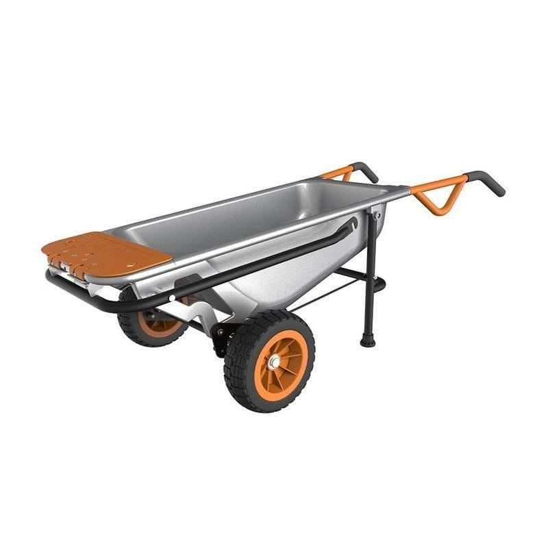ワークス 多機能手押し車 カート WORX Aerocart Multifunction Wheelbarrow, Dolly and Cart