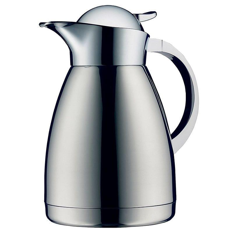 アルフィ アルベルゴ ステンレス カラフェ ポット 魔法びん 1.0L Alfi Albergo Top Therm Vacuum Insulated Carafe for Hot and Cold Beverages, 1 L, Stainless Steel
