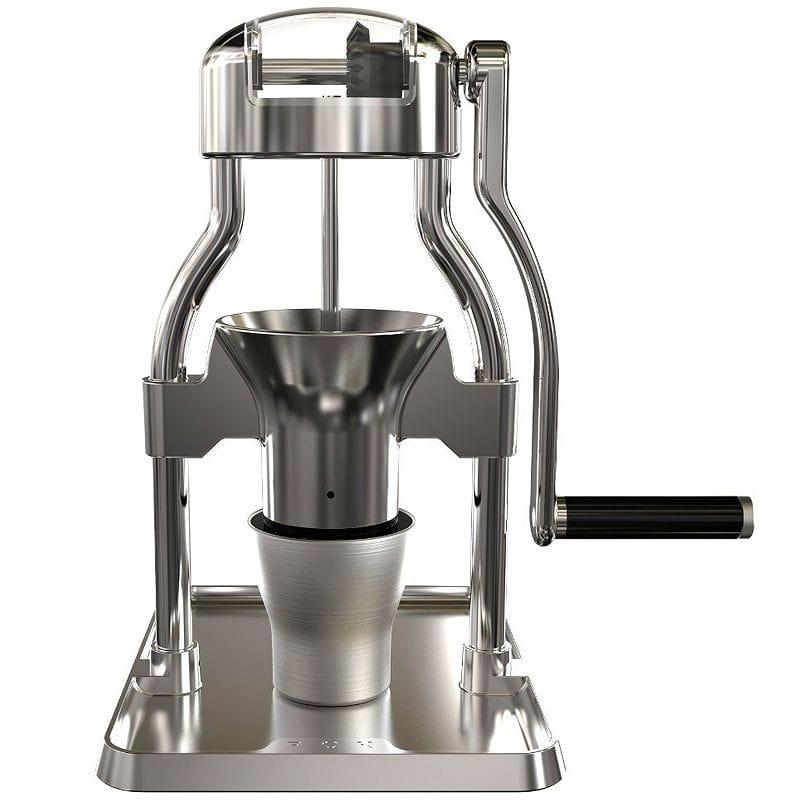 手動 コーヒーグラインダー 豆挽き ミル ROK Coffee Grinder, Aluminum