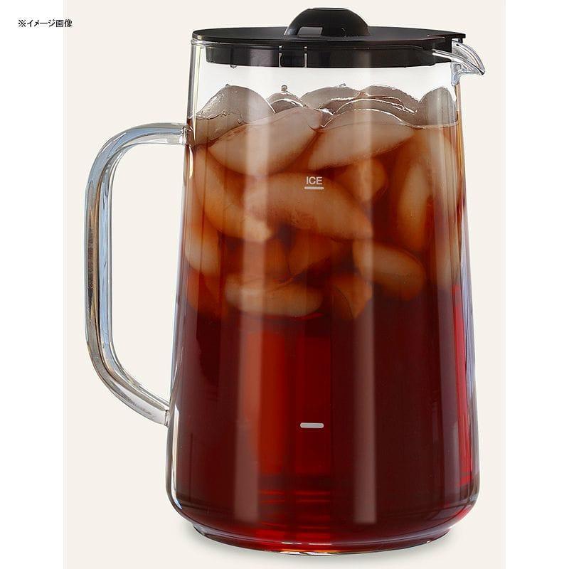 カプレッソ アイスティーメーカー用 ガラスピッチャー 部品 パーツ Capresso Iced Tea Pitcher with Lid #6624