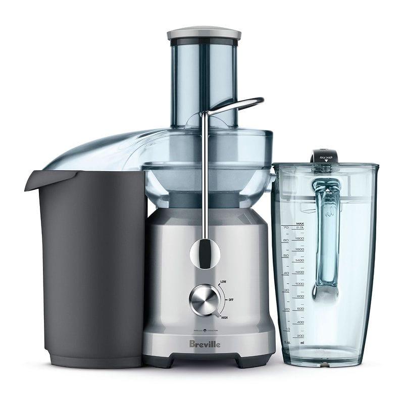 スピードが選べる ブレビル ジューサー ジュースファウンテン 2L Breville BJE430SIL The Juice Fountain Cold 家電