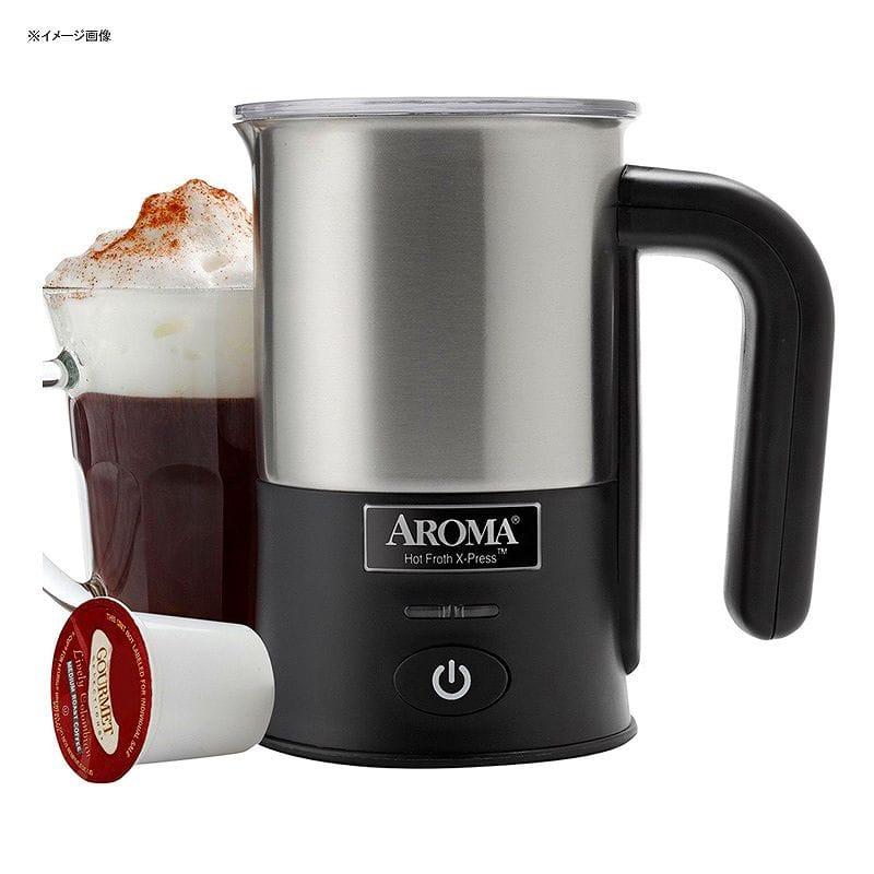 アロマ 自動ミルク泡だて器 フローサー Aroma Housewares AFR-180 Hot Froth Press Milk Frother