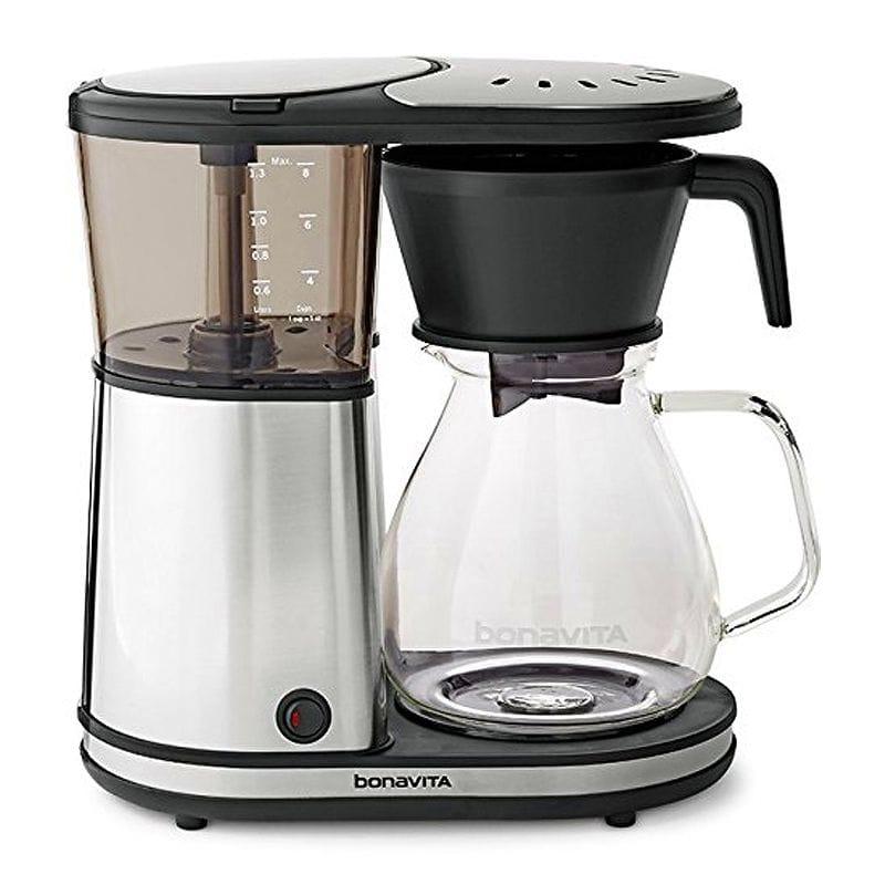 ボナビータ コーヒーメーカー ガラスカラフェ 8カップ Bonavita Glass BV1901GW 8-cup Coffee Brewer w/hot plate US 家電