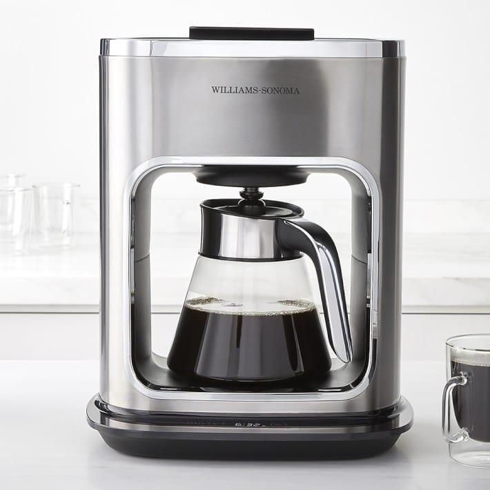 ウイリアムズ・ソノマ ガラスコーヒーメーカー 12カップ Williams Sonoma Signature Touch 12-Cup Glass Coffee Maker 家電