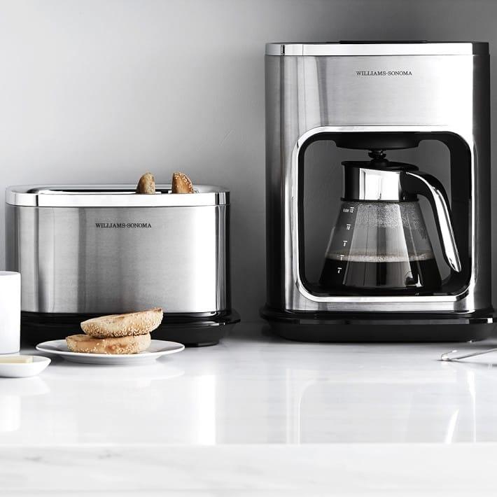 Williams Sonoma glass coffee maker 12 cup Williams Sonoma Signature Touch 12-Cup Glass Coffee Maker