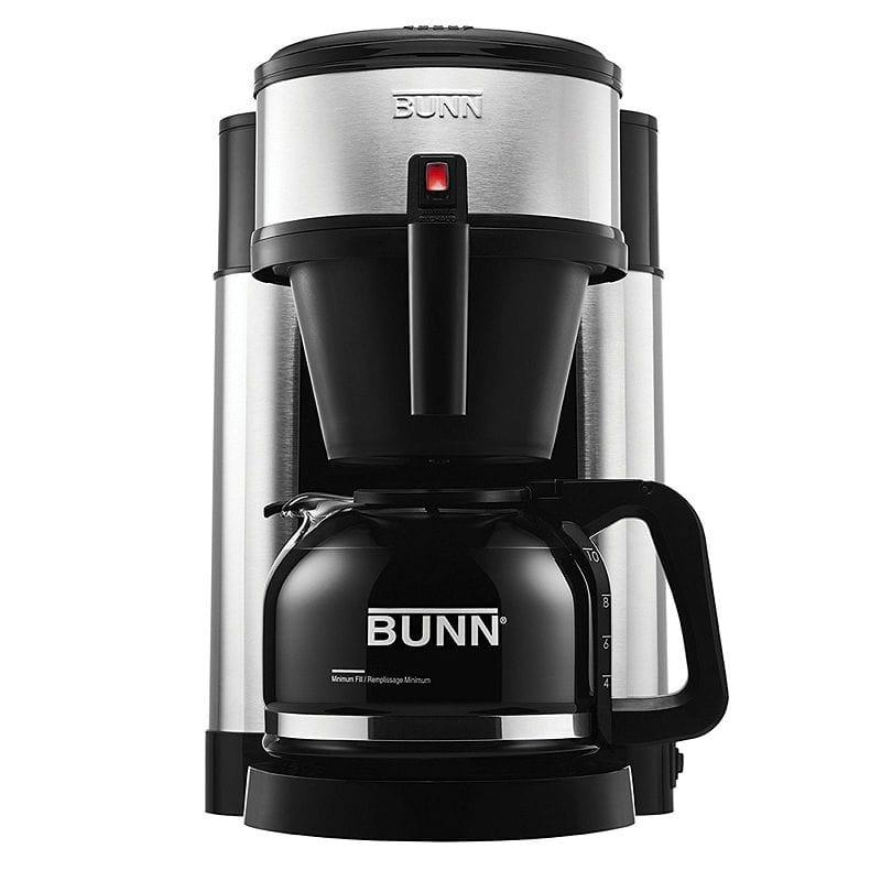 10カップをわずか3分でスピード抽出 コーヒーメーカー BUNN NHS Velocity Brew 10-Cup Home Coffee Brewer 家電