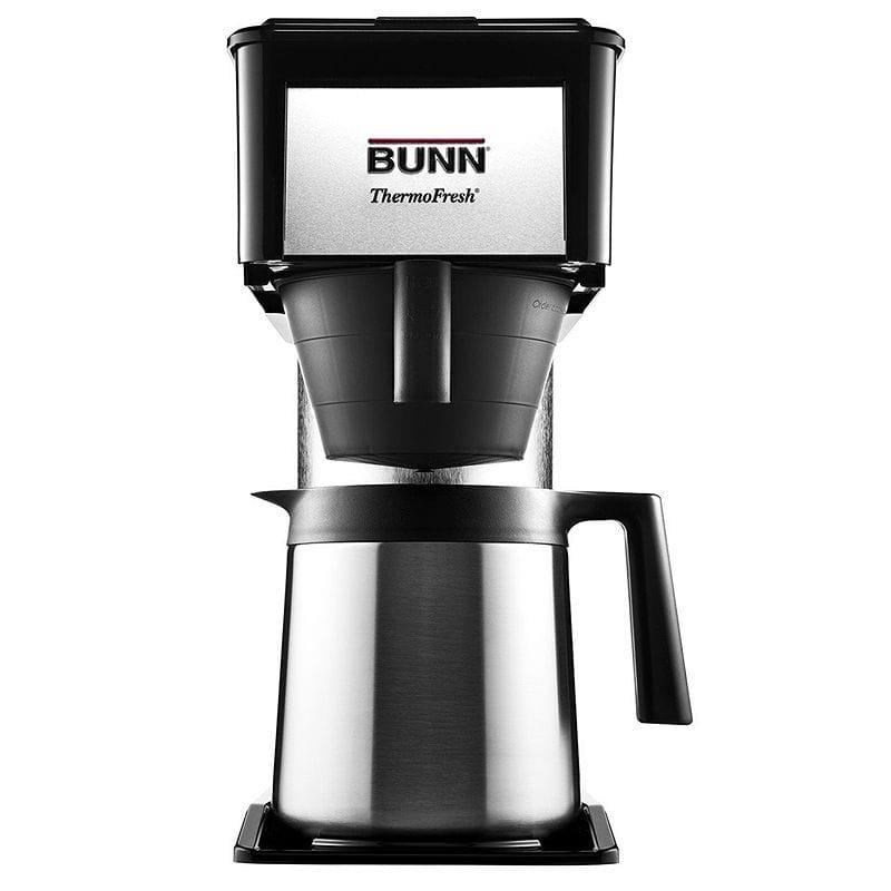 10カップをわずか3分でスピード抽出 コーヒーメーカー Thermal 魔法瓶 Home カラフェ BUNN BT Velocity Brew 10-Cup Black Thermal Carafe Home Coffee Brewer, Black 家電, 海からのおくりもの:2cbe434d --- sunward.msk.ru