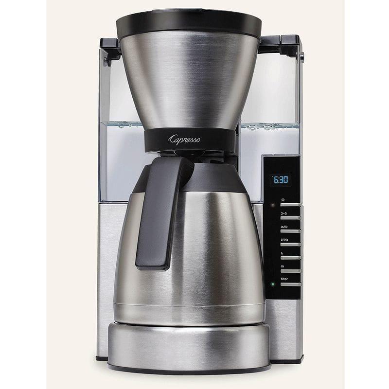 カプレッソ コーヒーメーカー ステンレスカラフェ Capresso MT900 10-Cup Rapid Brew 498.05 家電