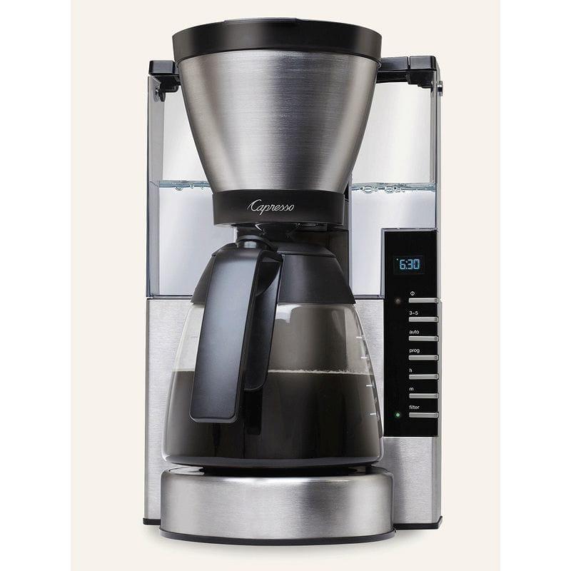 カプレッソ コーヒーメーカー ガラスカラフェ Capresso MG900 10-Cup Rapid Brew 497.05 家電