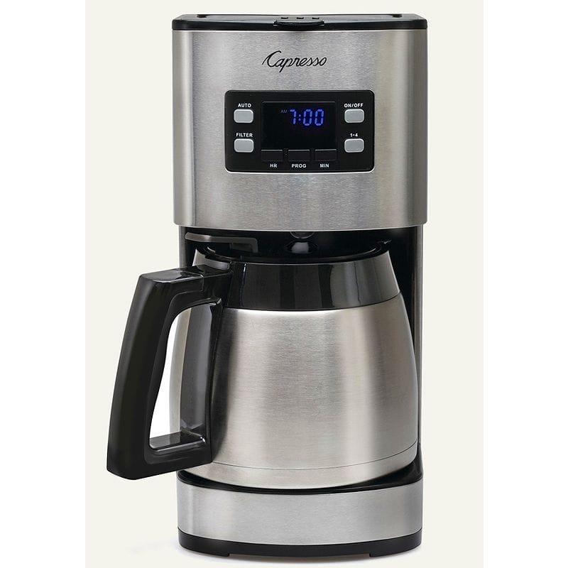 カプレッソ コーヒーメーカー Capresso ST300 10-Cup Stainless Steel Coffee Maker 435.05 家電