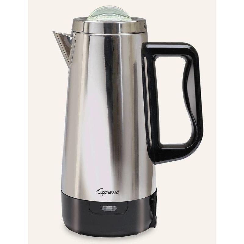 カプレッソ ステンレスパーコレーター コーヒーメーカー Capresso 12-Cup Perk 405.05 家電