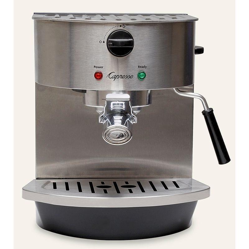 カプレッソ エスプレッソ&カプチーノマシーン ステンレスCapresso Stainless Steel Espresso & Cappuccino Machine 119.05
