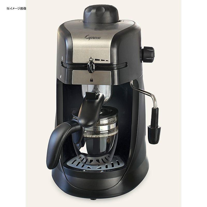 カプレッソ スチームプロ エスプレッソ&カプチーノマシーン Capresso Steam PRO Espresso and Cappuccino Machine 304.01 家電