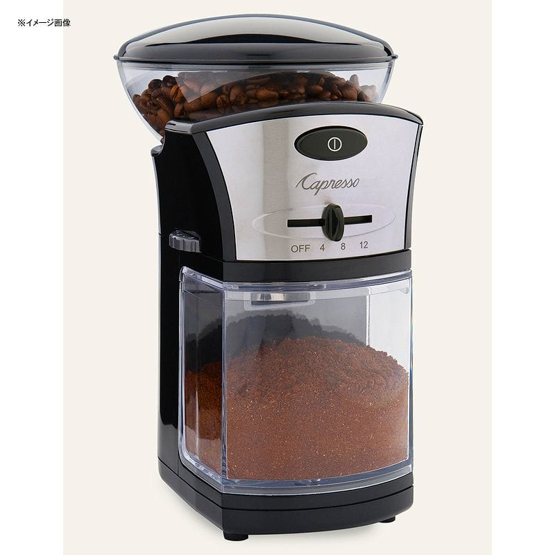 カプレッソ コーヒーミル グラインダー 豆挽き Capresso Coffee Burr Grinder #559.04 家電