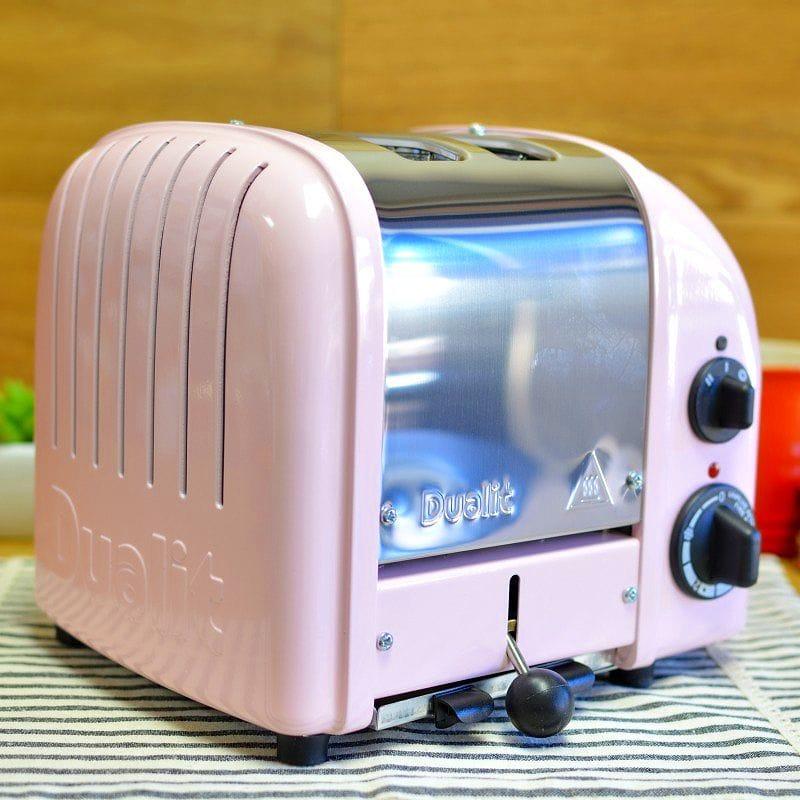 デュアリット ニュージェネレーション トースター 2枚焼き ピンクDualit Petal Pink NewGen 2-Slice Toaster 20299