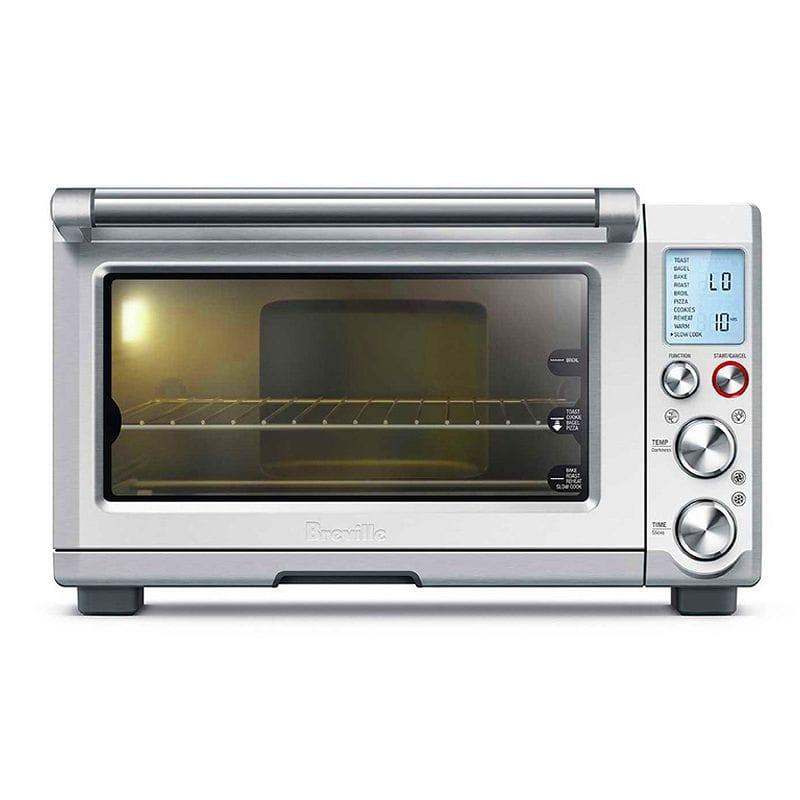 ブレビル スマート コンベクション トースター オーブン Breville BOV845BSS Smart Oven Pro Convection Toaster Oven with Element IQ, 1800W